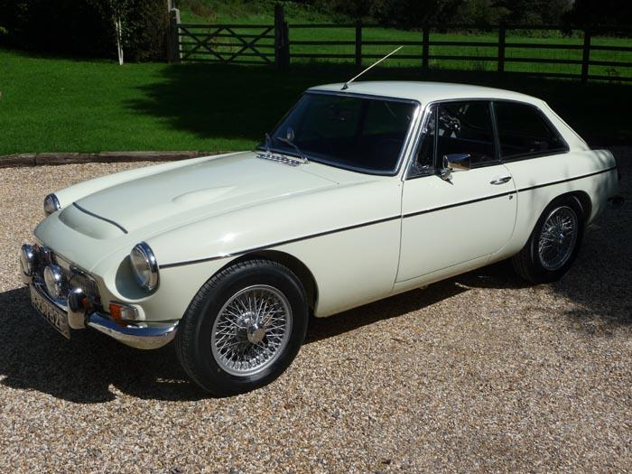 I have just finished the restoration of my late fathers MGC GT, it's immaculate, better than new