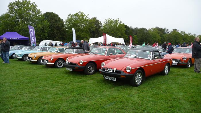 MGB 50 at Blenheim