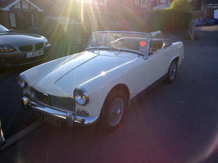 One year on and still enjoying our little 1967 Midget