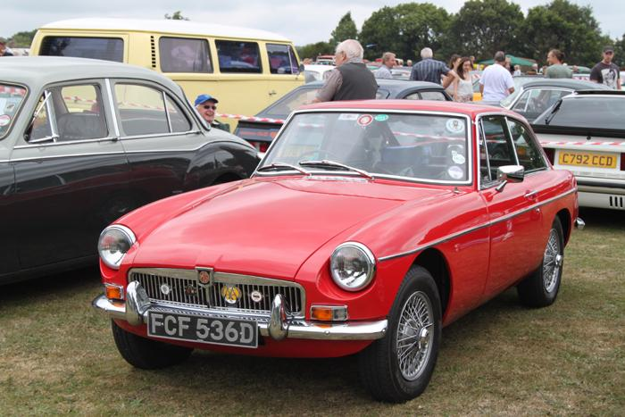 At Capel Classic  car show August 2013