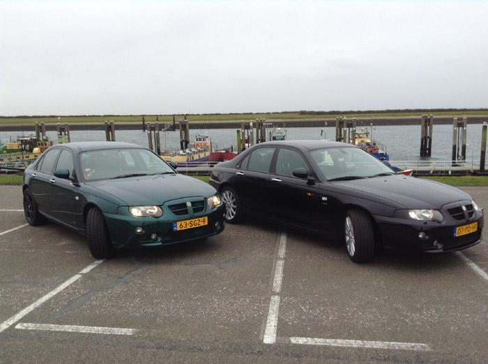 "Since 31/12/2013 we have a ""second love"" MG ZT V6. This time left hand drive. It's a beautiful couple!!"