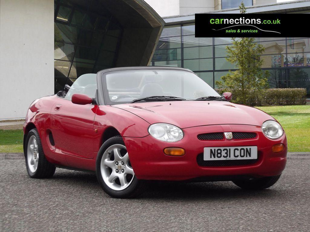 THIS WHAT SHE LOOKED LIKE THE DAY I PICKED UP MY 1995 MGF
