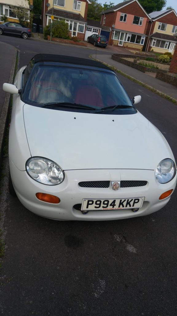 New member looking for history of my MGF