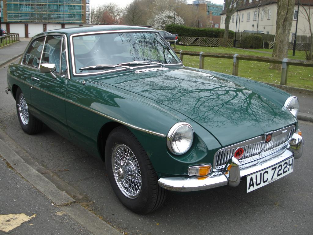 My MG B GT Auto - The ultimate in motoring nostalgia from the sixties