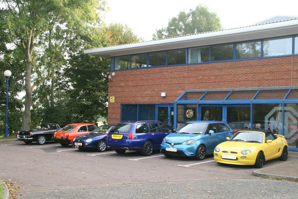 My MG3 at Swavesey HQ, on the Autumn Gold Run 12/10/2014.